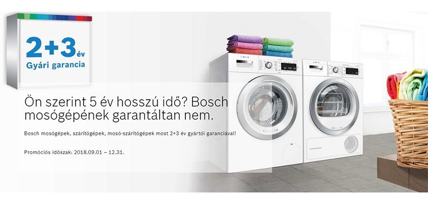 Bosch 2+3 év gyári garancia!