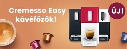 Cremesso Easy kávéfőzők!